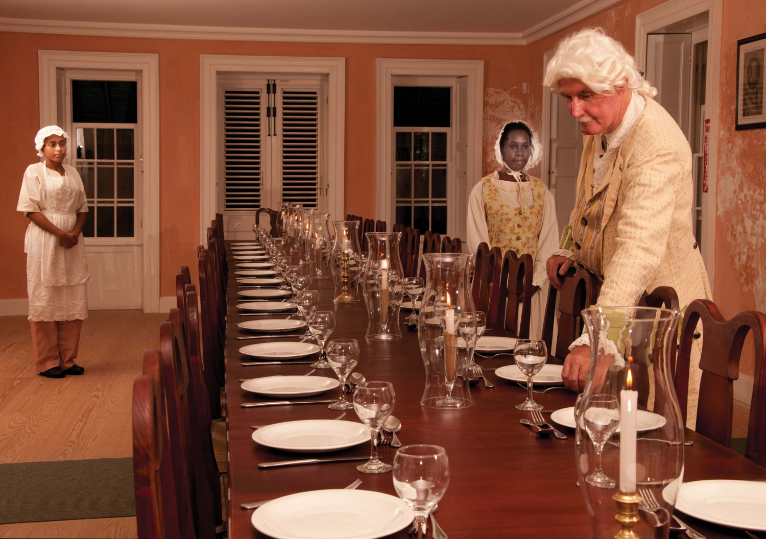 Dinner with George Washington