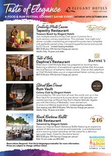 Elegant Hotels Gourmet Safari
