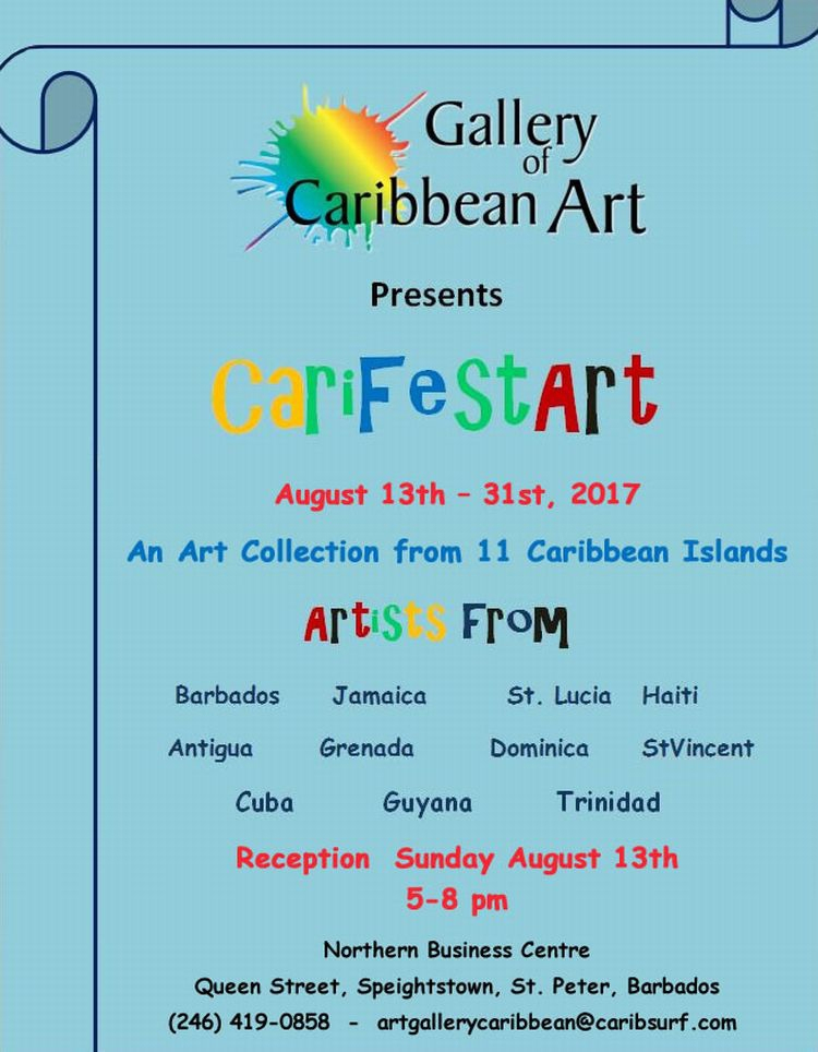 Gallery of Caribbean Art Exhibition - CARIFESTART