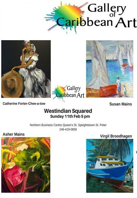 Gallery of Caribbean Art - February/March 2018 Group Show