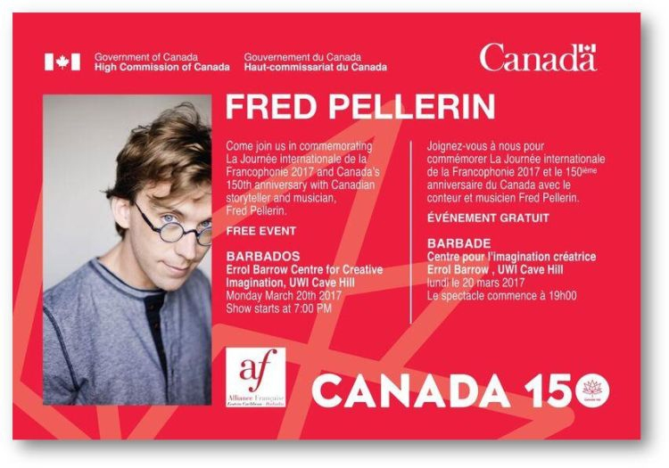 High Commission of Canada presents Fred Pellerin Live in Concert