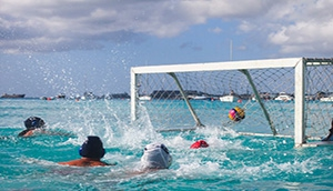 Barbados Beach Water Polo Masters Tournament 2019