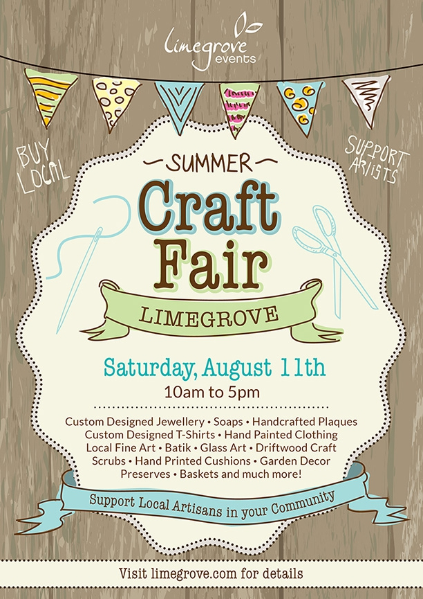 Limegrove Summer Craft Fair