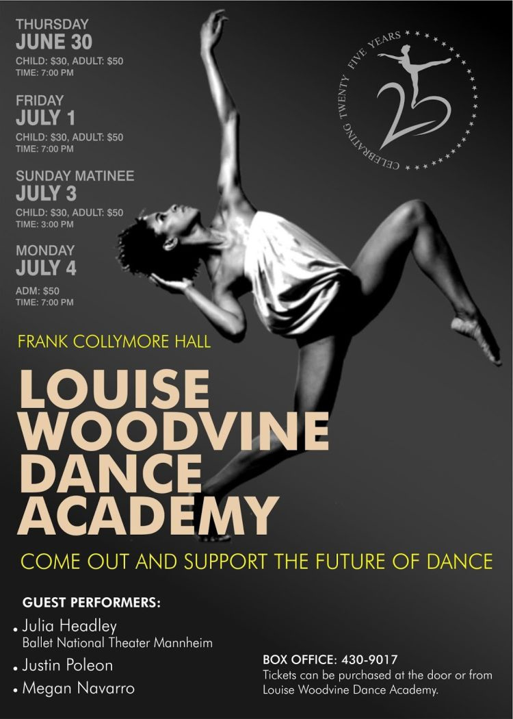 Louise Woodvine Dance Academy 25th Anniversary Show