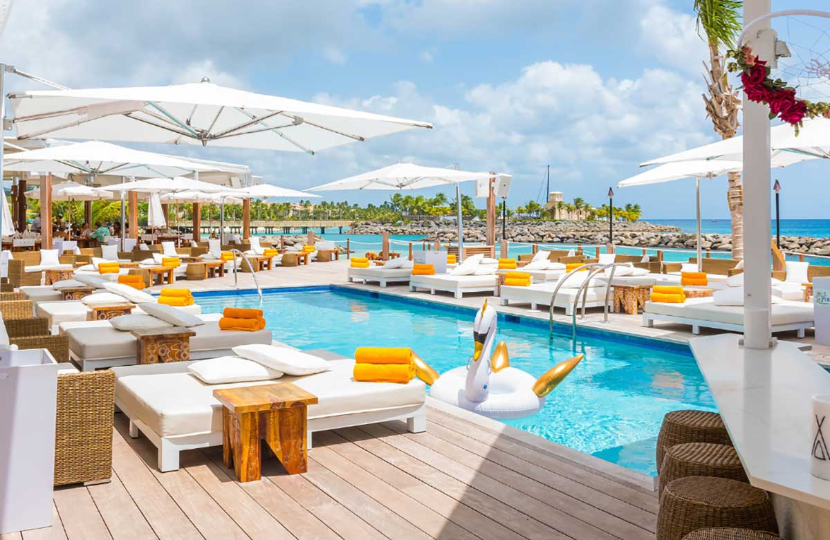 Nikki Beach Barbados - Pooling Around