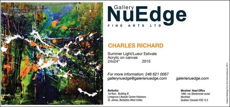 NuEdge Gallery Exhibition - Charles Richard