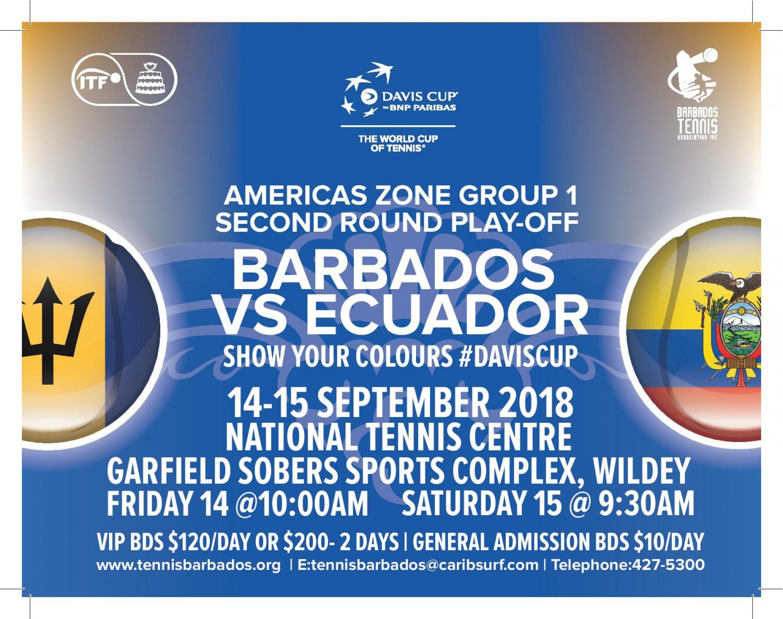 Barbados vs Ecuador Davis Cup