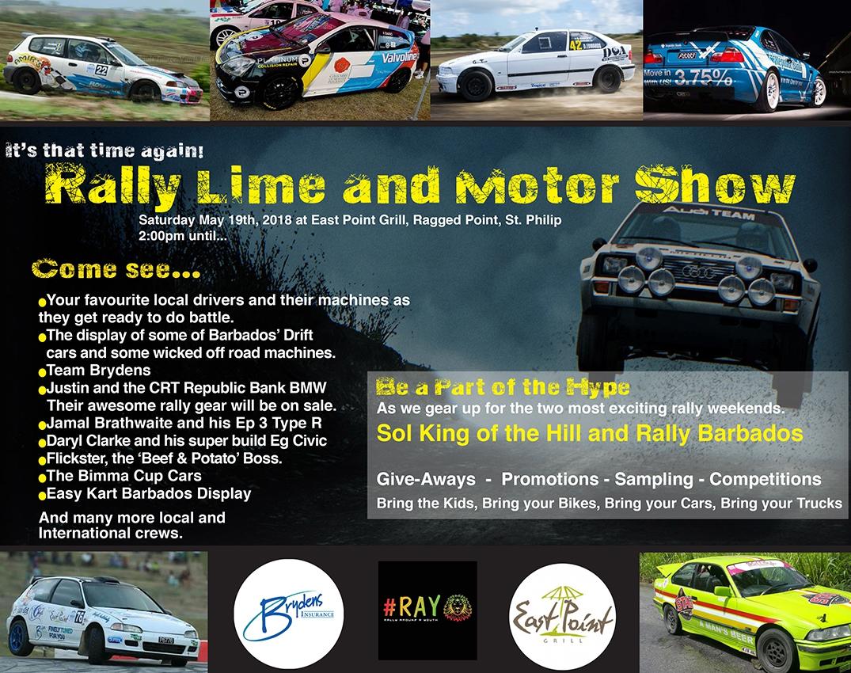 Rally Lime and Motor Show