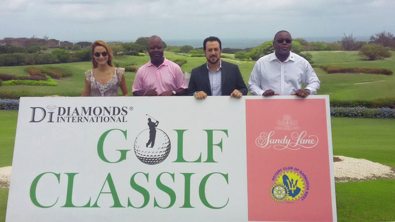 The Annual Diamonds International/Rotary West/Sandy Lane Golf Classic