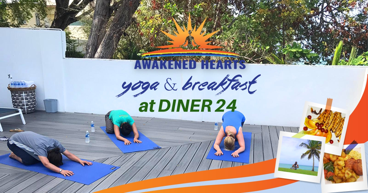 Yoga & Breakfast at Diner 24