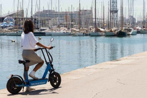 2-Hour Montjuïc Tour by Electric Scooter