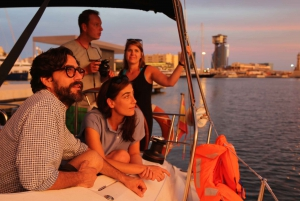 2-Hour Sunset Sailing Tour from Port Vell