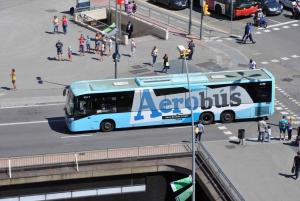 Aerobús Shuttle Between Airport and City Center