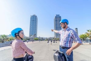Barcelona: 1.5-Hour City and Seafront Segway Group Tour