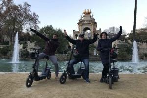 Barcelona: 2-Hour e-Scooter Tour