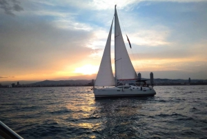 Barcelona 2-Hour Exclusive Sunset Sailing Experience