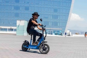 Barcelona: 2-Hour Montjuïc Tour by Electric Scooter