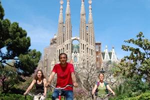 Barcelona: 3.5-Hour Bike Tour with Spanish Tapas