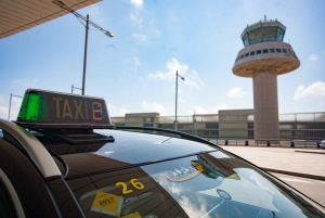 Barcelona Airport Private Transfer to/from City Center