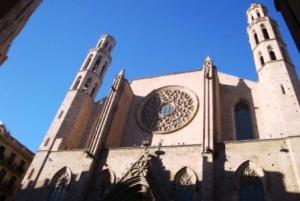 Barcelona: Barrio Gotico City Tour in German