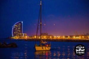 Barcelona: Champagne Sunset Boat Party