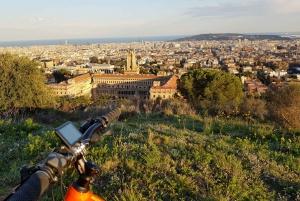 Barcelona: Electric Mountain Bike Ride with Panoramic Views