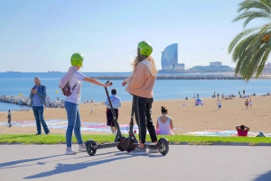 Barcelona: Electric Scooter Tour