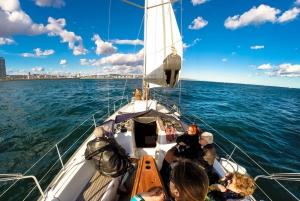 Barcelona: Ferrari Car Driving & Sailing Experience
