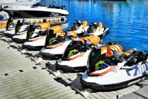 Barcelona: Ferrari Driving and Jet Ski Experience