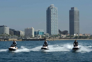 Barcelona: Ferrari Driving & Jet Ski Experience