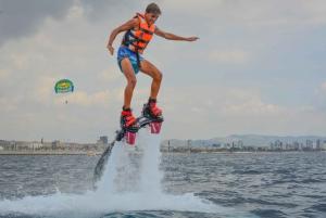 Barcelona: Flyboarding Adventure on the Mediterranean Sea