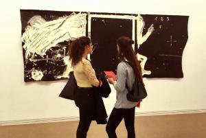 Barcelona: Fundació Antoni Tàpies Entrance and Exhibitions