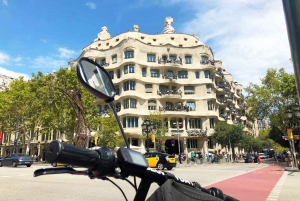 Barcelona: GPS Guided Gaudí eScooter Tour