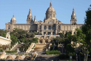 Barcelona: GPS Guided Montjuic eScooter Tour