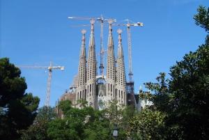 Barcelona: GPS Guided Sagrada Família eScooter Tour