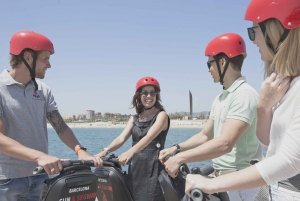 Barcelona: Guided Segway Tour