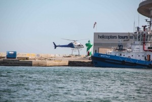 Barcelona: Helicopter Flight and Yacht Cruise Combo