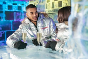 Barcelona: Ice Bar and Terrace Drinks Romantic Package