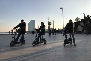 Barcelona: Panoramic eScooter Tour