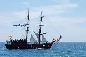Barcelona: Pirate Boat Trip With Skyline Views