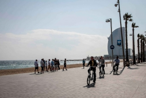Barcelona: Private 5 Neighborhoods Tour by Electric Bike
