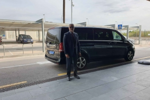 Barcelona: Private Driver Service