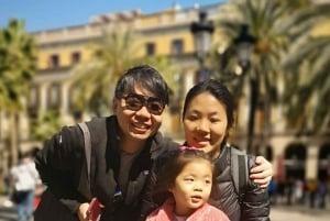 Barcelona: Private Family Child-Friendly Tour