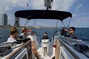 Barcelona: Private Sailing Boat Cruise