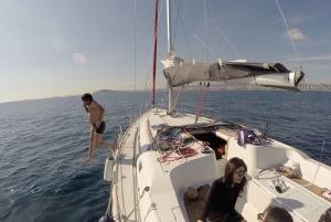 Barcelona: Sailboat 2-Hour Trip