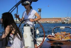 Barcelona: Segway Tour & Sailing Experience