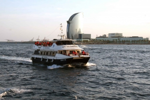 Barcelona Skyline and Beaches Boat Tour