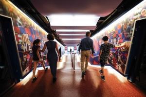 Camp Nou: F.C. Barcelona Players Experience Tour