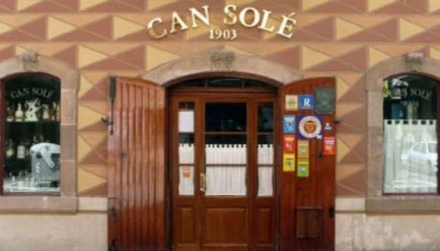 Can Solé Restaurant in Barcelona
