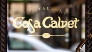 Casa Calvet Restaurant in Barcelona